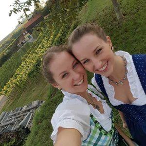 Michaela und Christine Huber